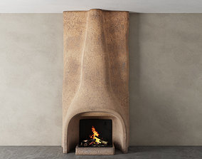 Shkrub Fireplace 3D asset
