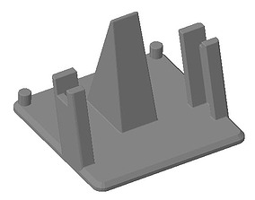 multifunctional phone stand 9-72 3D printable model