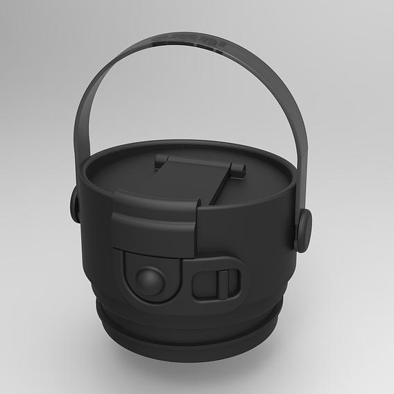 Flask Lid Design