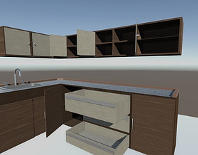 Cabinet Kitchen 3D model
