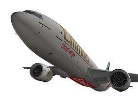 Boeing 777-200F Emirates SkyCargo 3D