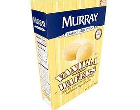 Murray Cookies Vanilla Wafers 12 oz 3D asset