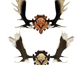 3D model Elk antlers