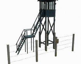Soviet tower 3D model