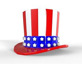3D print model Uncle Sam Hat