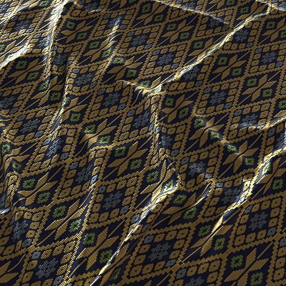 Thai pattern fabric