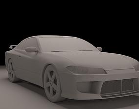 3D Nissan Silvia S15