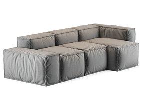 Bonaldo Peanut sofa 3D model