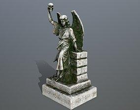 statue 2 3D model low-poly