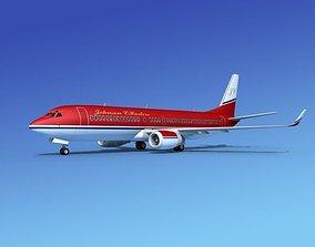 Boeing 737-800 Johnson Charter 3D