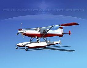 DeHavilland DHC-2 Turbo Beaver V17 3D