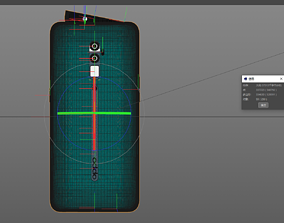 3D 4D modeling rendering---OPPO Reno ten times zoom