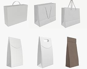 paper bags 3D model