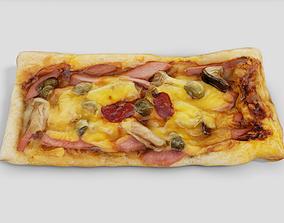 Homemade Pizza 3D asset