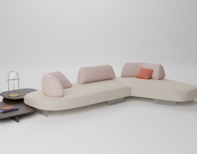 Papilo Sofa - Ditre Italia 3D model