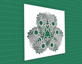 Mandala 3D flower