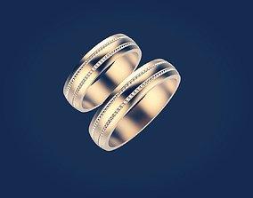 wedding ring 4 3D printable model