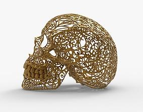 3D print model Ornamet Skull Mask Sculpture