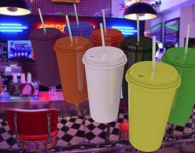 3D model Plastic Cups