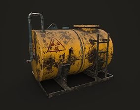 TANK CHEMICAL- OIL - High Quality 3D asset