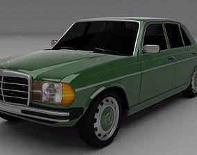 Mercedes-Benz W123 3D