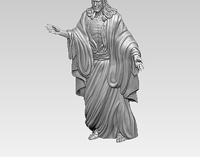 3D printable model Jesus statue bust jewel pendant