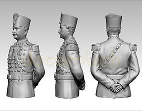 king of iran 3D printable model