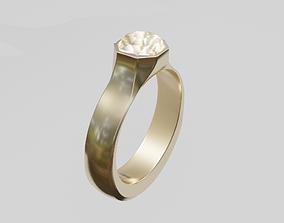 3D asset realtime diamond ring