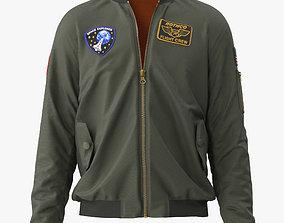 3D model Flight Jacket