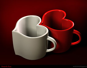 3D printable model Heart Shaped Cup