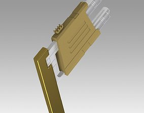 Star Trek Enterprise Naussian Phaser 3D print model 2
