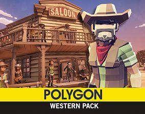 POLYGON - Western 3D model