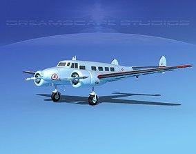 Lockheed L10 Electra American 3D model