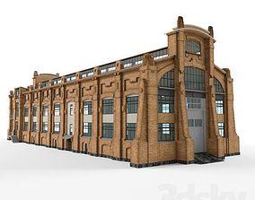 industrial building 3D