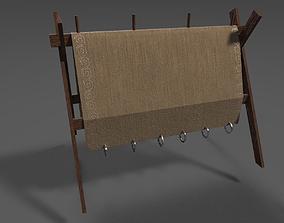 Weaving Rack 3D asset