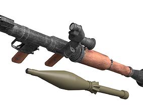 3D model realtime RPG-7 optical sight