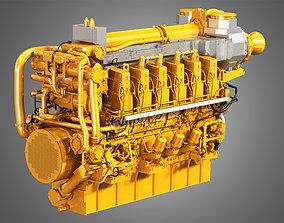 C280 Engine - V12 Engine 3D model