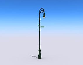 vehicle 3D asset game-ready Street Lamp