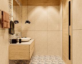 Toilet Luxury Simple Bathroom Design 3D printable model 2