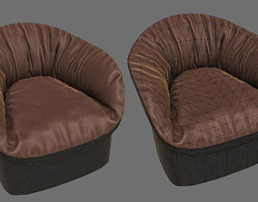 HQ Modern Armchair Pack 3D asset