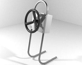 Steering - Watercraft Type 3D model