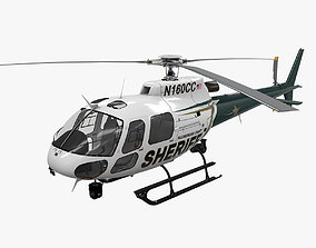 3D model AS-350 Hillsborough County Sheriff