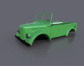 3D printable model RC Body GAZ 69 Scale 8