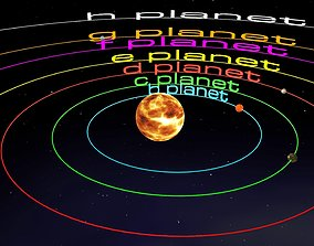TRAPPIST-1 System 3D animated