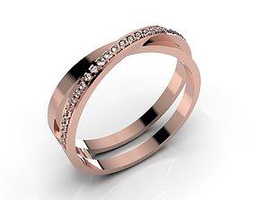 3D print model Women Ring - CAD-09