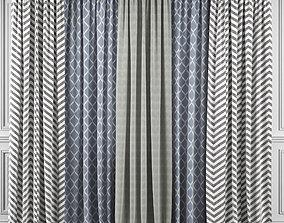 3D Curtain Set 355
