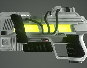 Funky Raygun 3D model