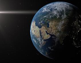 Earth galactic 3D model