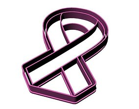 Breast Cancer Ribbon 3D printable model