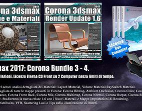 Corona in 3dsmax 2017 Bundle Vol 3 e 4 Cd